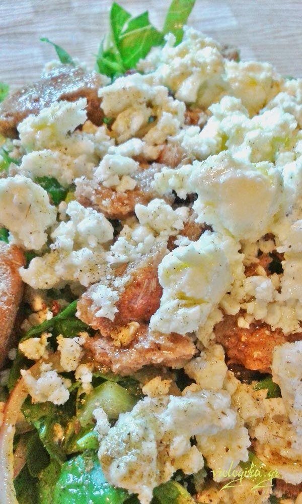 Καλοκαιρινή πράσινη σαλάτα, έτοιμη σε 10 λεπτά. http://www.viologika.gr/syntages/salates/salata-kalokairini.php