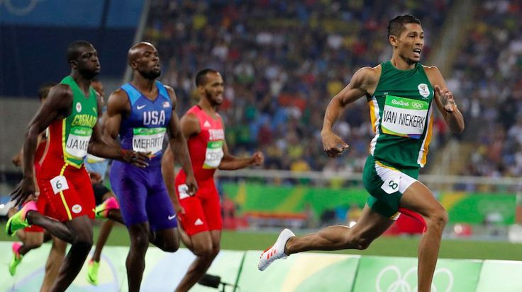 Wayde van Niekerk shatters world record after apartheid ended mom's athletic careerSouth Africas Wayde Van Niekerk takes the lead in the mens 400-meter final during the athletics competitions of the 2016 Summer Olympics at the Olympic stadium in Rio de Janeiro Brazil Sunday Aug. 14 2016.  Image: AP Photo/David Goldman  By Marcus Gilmer2016-08-15 01:55:45 UTC  South African runner Wayde van Niekerk may have stolen the spotlight from Usain Bolt on Sunday night in Rio.  The 24-year-old…