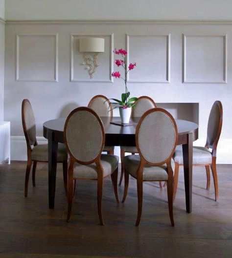 Houghton chairs - Fox Interior Design Ltd www.foxinteriordesign.com