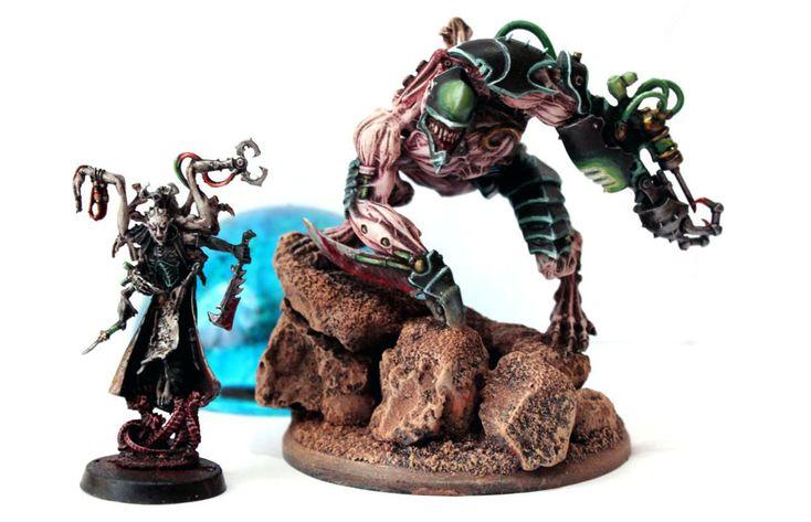 Dark Eldar Grotesque conversion
