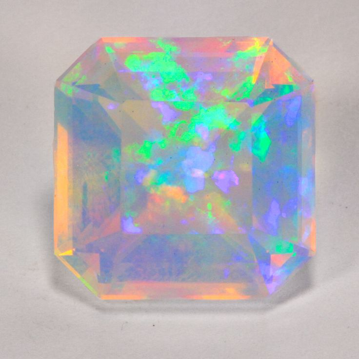 ethiopian opals | Home » Opal Gemstones » Fantastic Welo Opal 9.43 Ct. Faceted