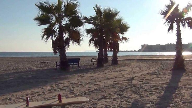 Зимний пляж в Аликанте для туристов из Заполярья, Декабрь 2013 - Аликант...