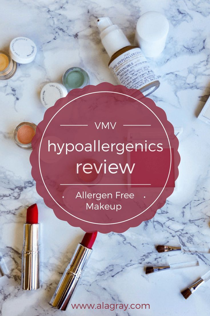 Vmv Hypoallergenics Cosmetics Review A La Gray Vmv Hypoallergenics Hypoallergenic Makeup Brands Sensitive Skin Makeup
