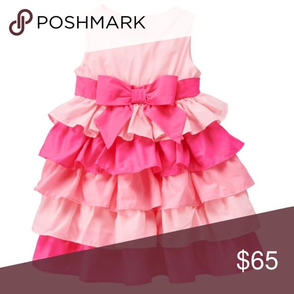 In stock!!  PRETTY IN PINK RUFFLE DRESS Beautiful two tone pink ruffle dress . Multiple sizes available KYLIEKIDS Dresses