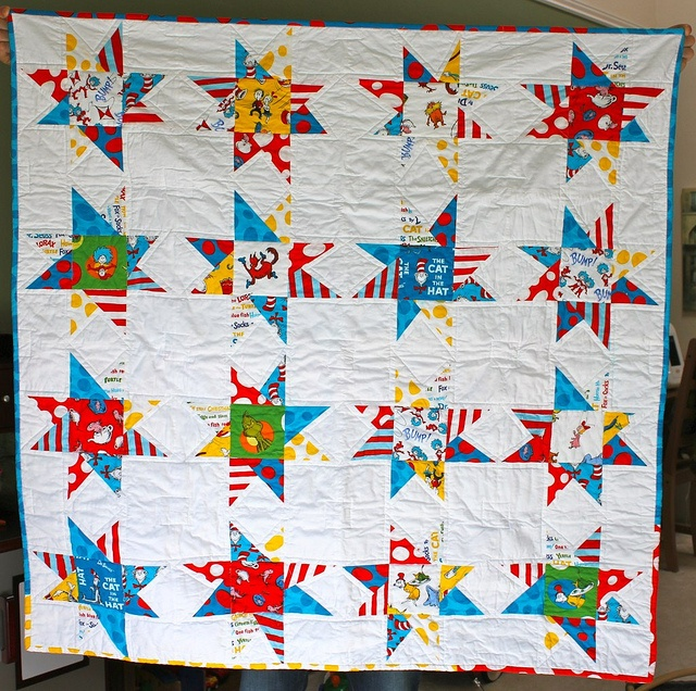 80 best dr seuss quilts images on Pinterest | Baby quilts, Dr ... : dr seuss quilt kit - Adamdwight.com