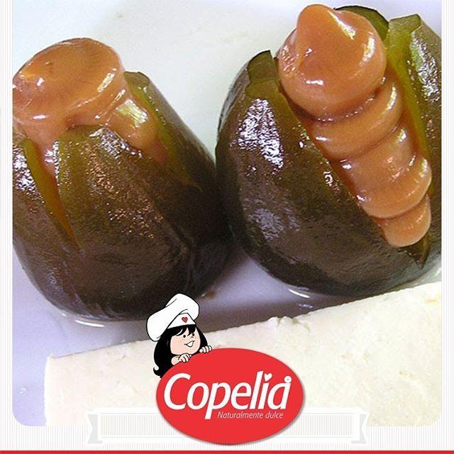 Disfruta el sabor de Colombia en la brevas con queso y #ArequipeCopelia…