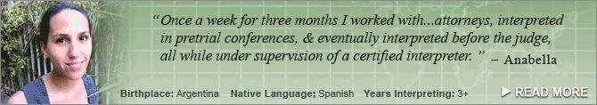 Interpreter Testimonials Header Banner