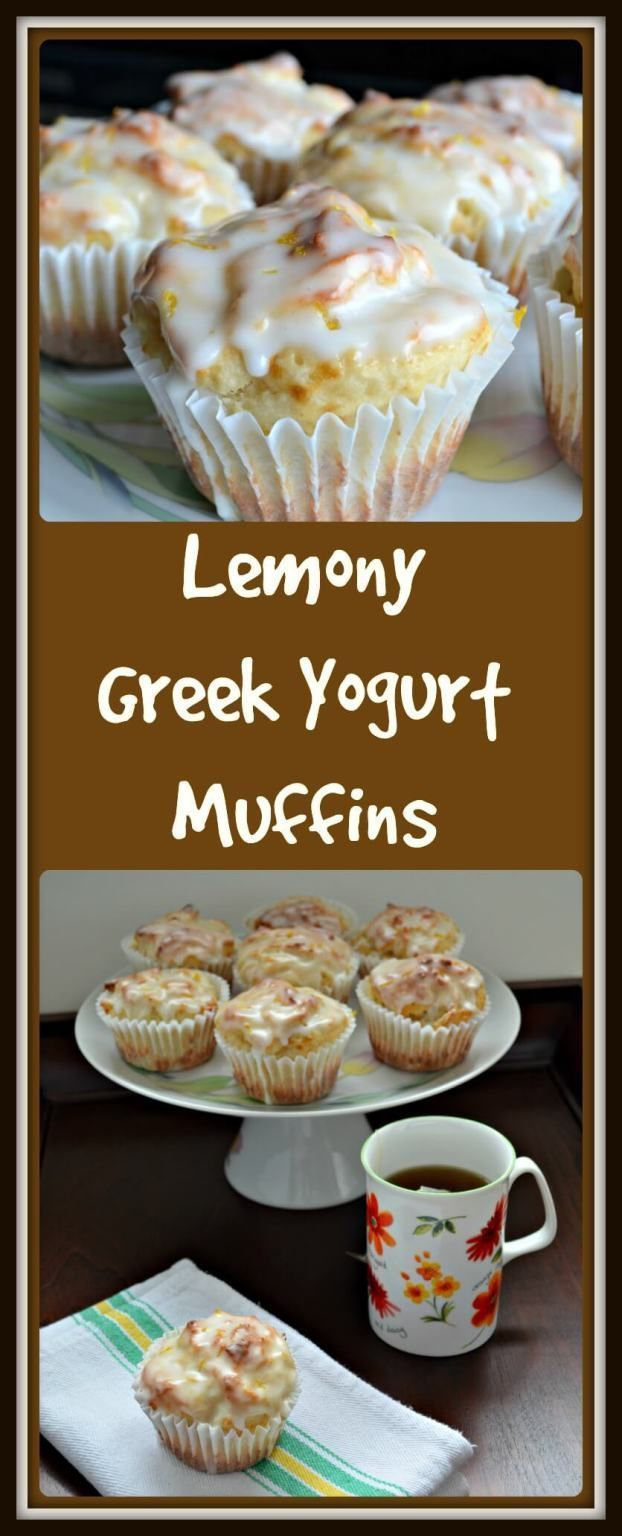 There are so many reasons to love muffins, especially if you're making this recipe for these Lemony Greek Yogurt Muffins. Start counting...