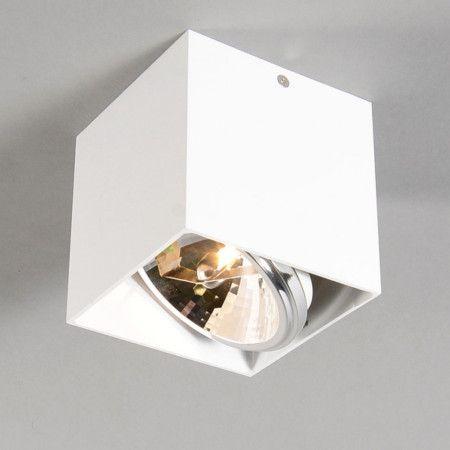 Spot Box 1 wit - Projectverlichting - Verlichting per ruimte - Lampenlicht.nl