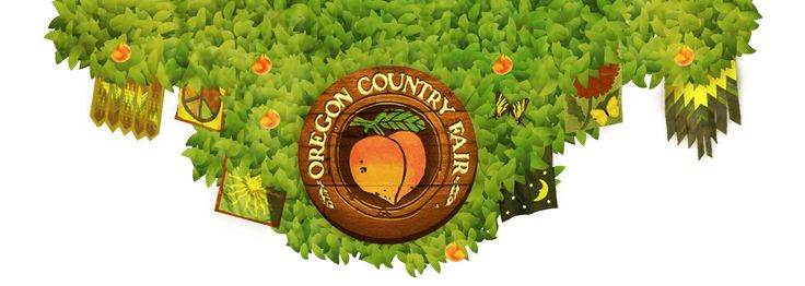 July 7, 8 and 9th 2017 -  Oregon Country Fair