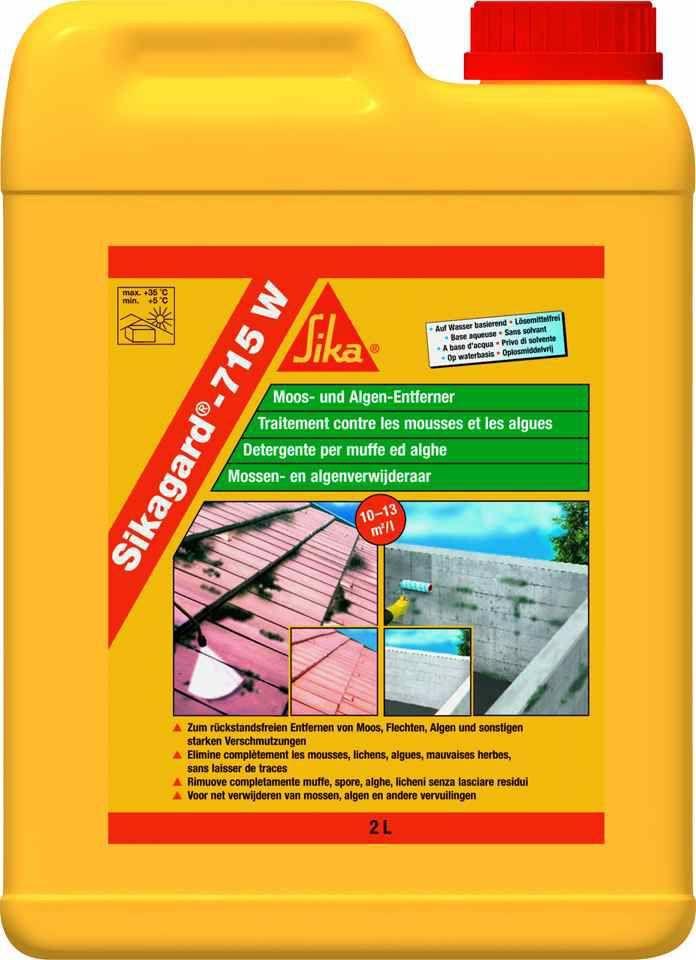 Sikagard 715 W Anti Mousse Anti Lichen Et Anti Algues Sika Algues Traitement Produits