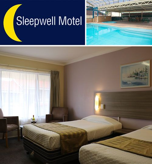Sleepwell Motel Albany: Popular with couples and families alike looking for affordable Albany motel accommodation.  Sleepwell Motel Albany offers great value accommodation with a range of 60 rooms and apartments, ideally situated minutes from the town centre, shops, golf course, beaches, national parks, scenic lookouts and Albany's tourist attractions.  Enjoy the indoor heated pool,  spa, BBQs, playground, tennis court/basketball court, restaurant, bar, tour desk, guest laundry and parking.