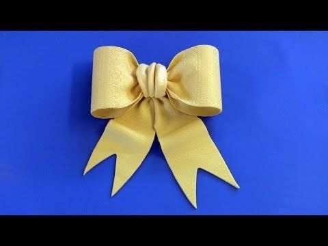 """http://www.CakeSuppliesPlus.com for cake photos and supplies in video.    """"Like"""" us on facebook at http://www.facebook.com/CakeSuppliesPlus  Cake Decorating: How To Make A Fondant Bow Tutorial or Gumpaste Bow."""