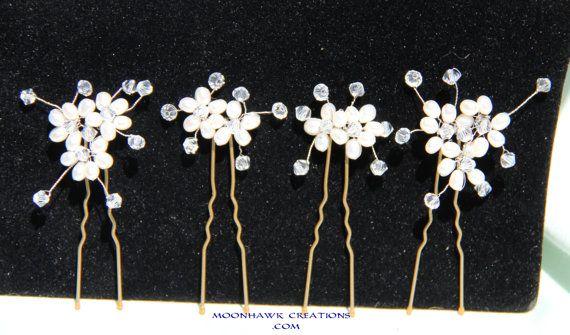 Freshwater Pearl Hair Pins