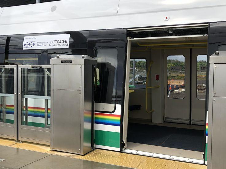 A glimpse at the Honolulu Rail Hawaiian Electric