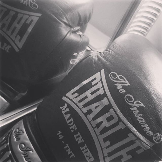 Preparada para una tarde más de boxeo  Ready for another boxing afternoon  #40andfit #healthylife #timeforworkout #boxingworkout #lovetohitit #boxinglife #boxing #boxingday #emporiobarcelo #warrior #superwomen #fitat40 #fitnessaddict #gymaholic #removesadness #feelinggood #stressreliever #sweatdontcry #charlie #madeinhell #box #gym #progressing #adventure #enjoythemoment #jointheadventure #girlswhofight #readytokillit #strongisthenewsexy #motivated