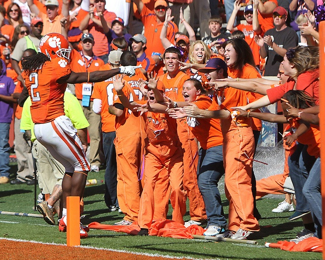 Sammy Watkins and Central Spirit celebrate a touchdown