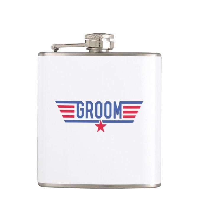 Groom Hip Flasks