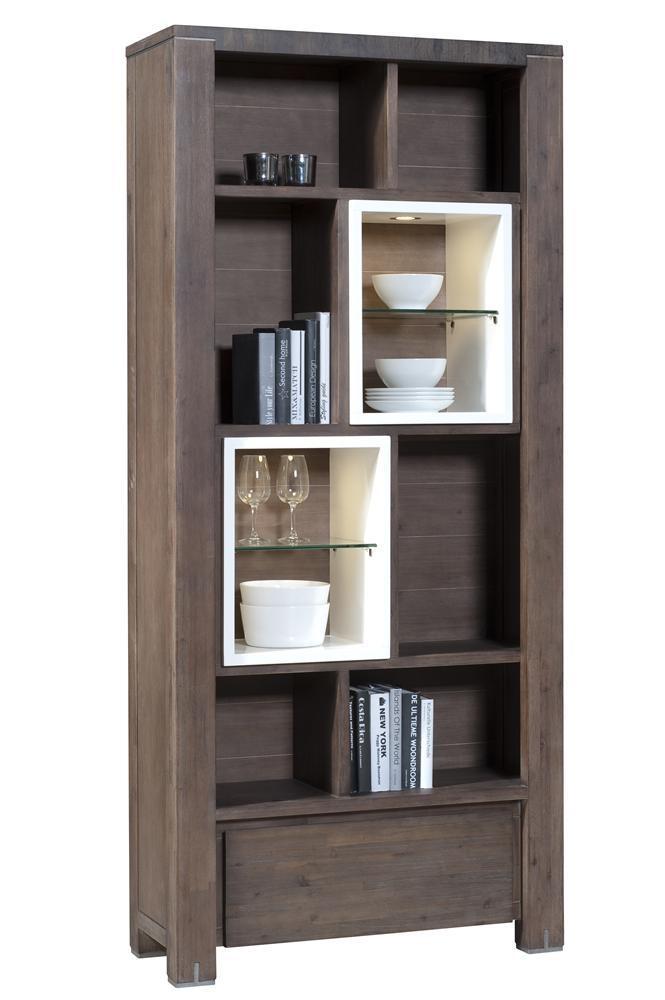 Cataluna bookcase 90x200x35cm