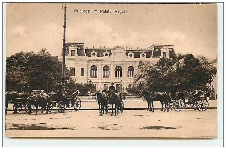 Bucuresti - Vechiul Palat Regal - interbelic