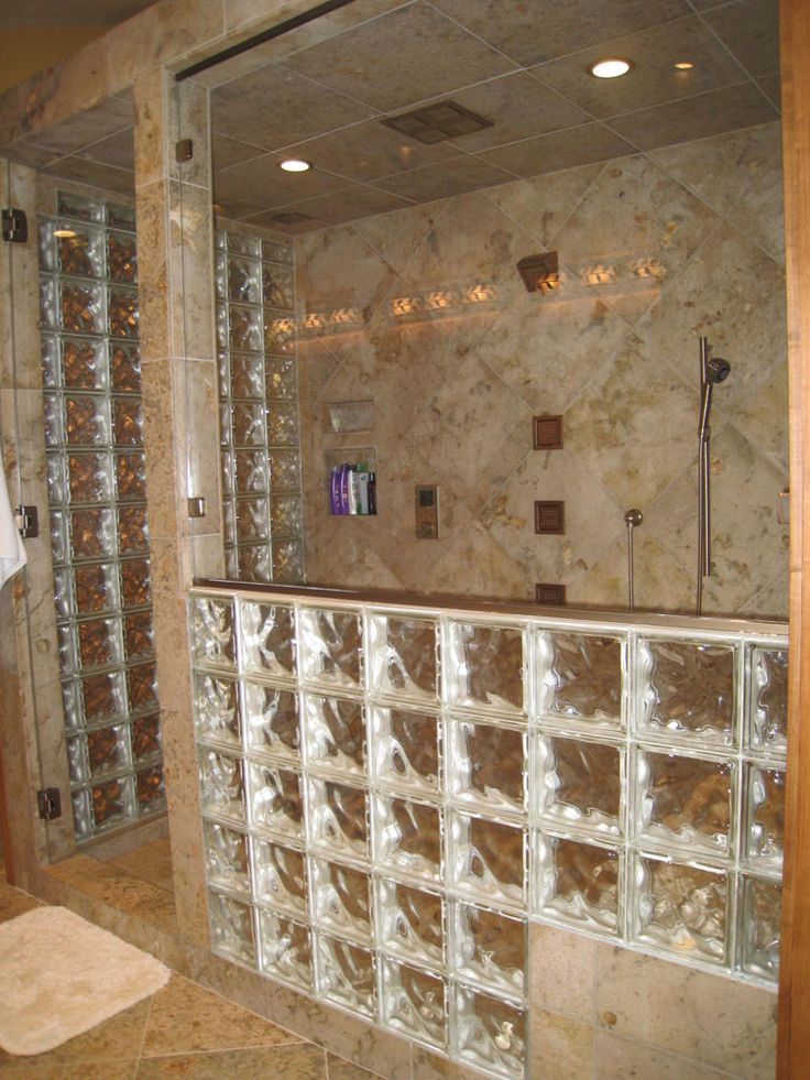 Bathroom Ideas The Block 20 best glass block ideas images on pinterest | bathroom ideas