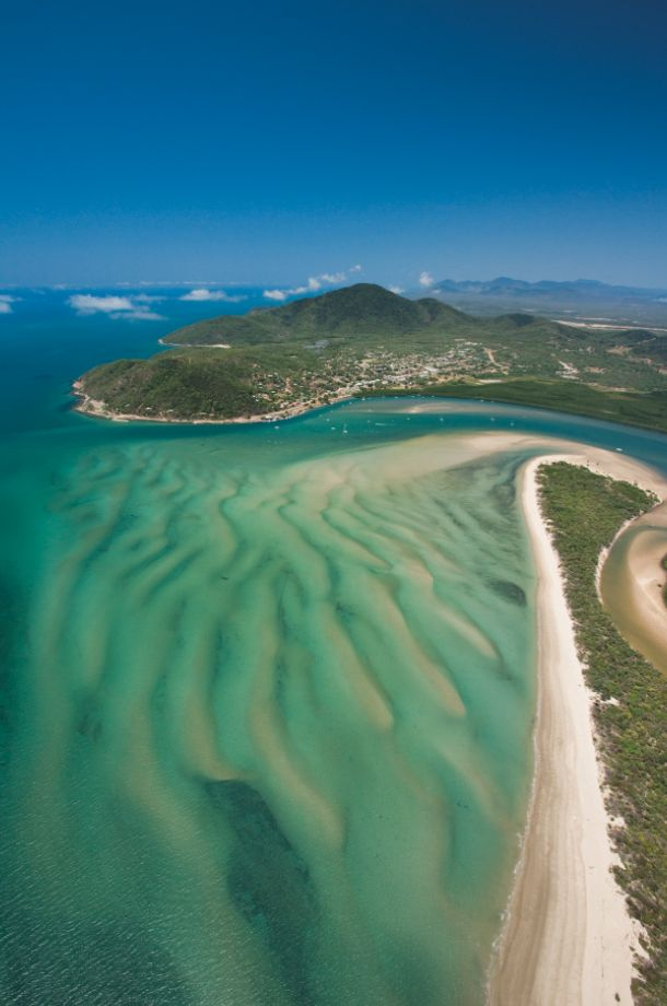 Aerial views of Cooktown, Far North Queensland, Australia- visited this tiny isolated town many times.