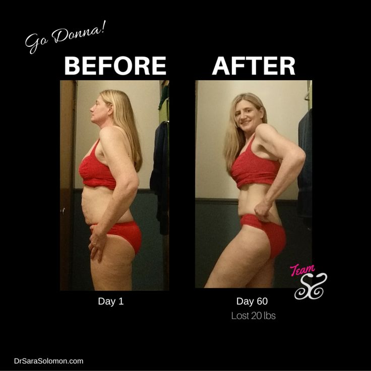 Donna is 52 years old and she lost 20 pounds in 60 Days ...