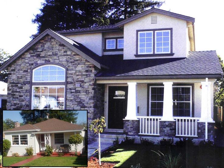 second floor additions before and after before after residence remodel second floor additionexterior remodelhouse