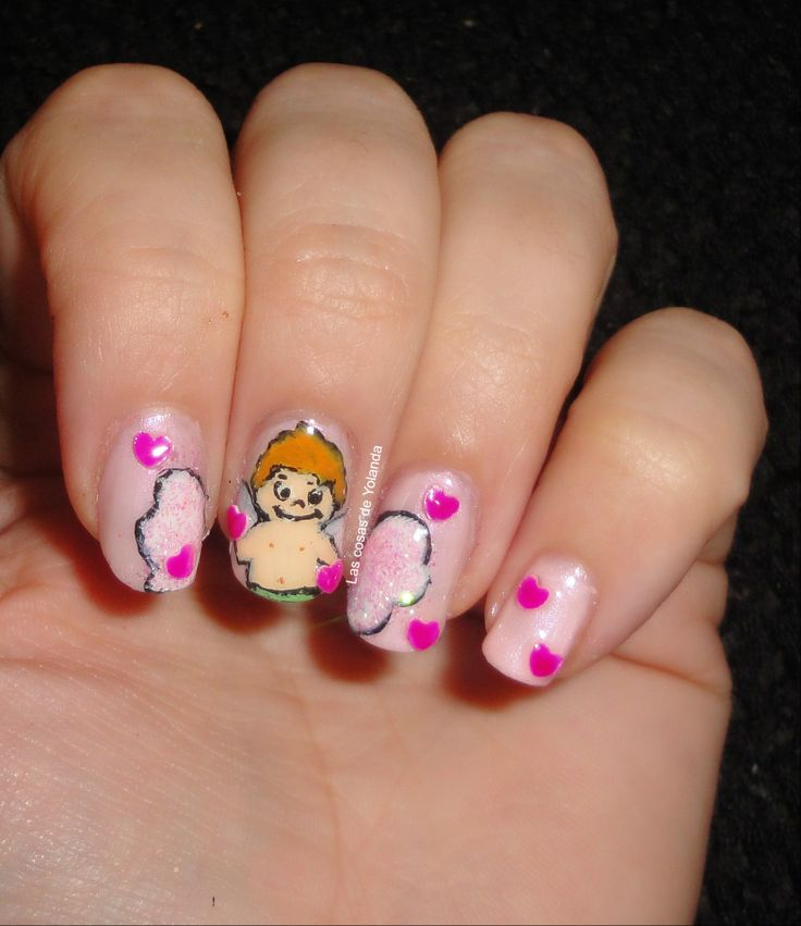 84 best nail art images on pinterest nail art valentine day cupid nail art nail art cupidocupido amor love prinsesfo Images
