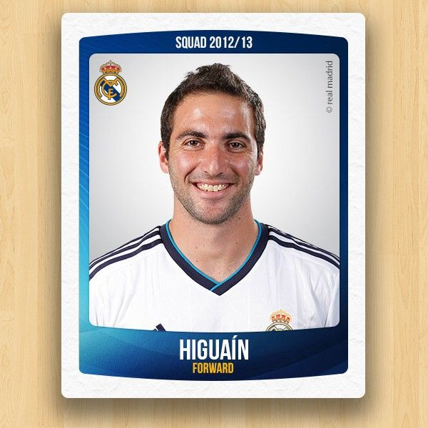 Real Madrid Collections - Gonzalo Higuaín