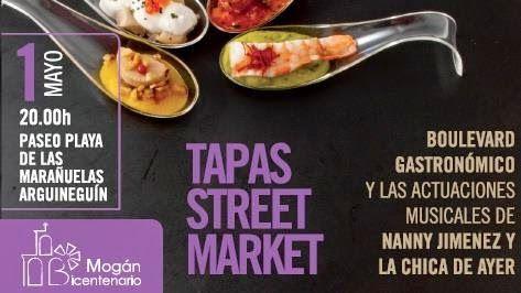Gran Canaria Blog - News, Events, Reviews: Tapas Street Market Arguineguin: May 2015