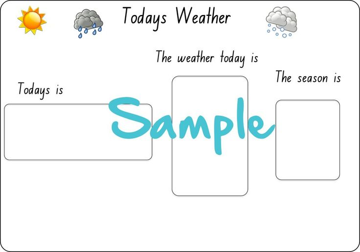 Chart the weather each day and followthe days of the week with printable cards to help little ones understand weather,...