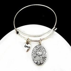 Hamsa Pendant Bracelets                      – Lavenderella