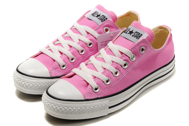 converse shoes/pink/Canvas shoes/fashion/summer/spring Lace Sneakers In Stock •$35