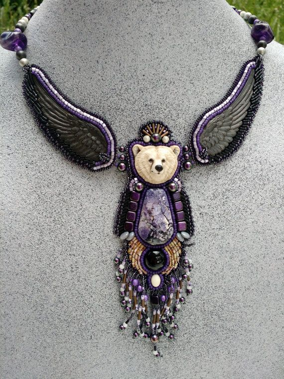 Tiffany Stone Bear Totem by OfYourLove on Etsy