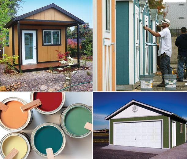 Purchase a Tuff Shed storage building or garage and we'll paint it for FREE.  Up to a $500 discount on sheds and $1,000 on garages.