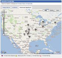 Interactive Tornado Map