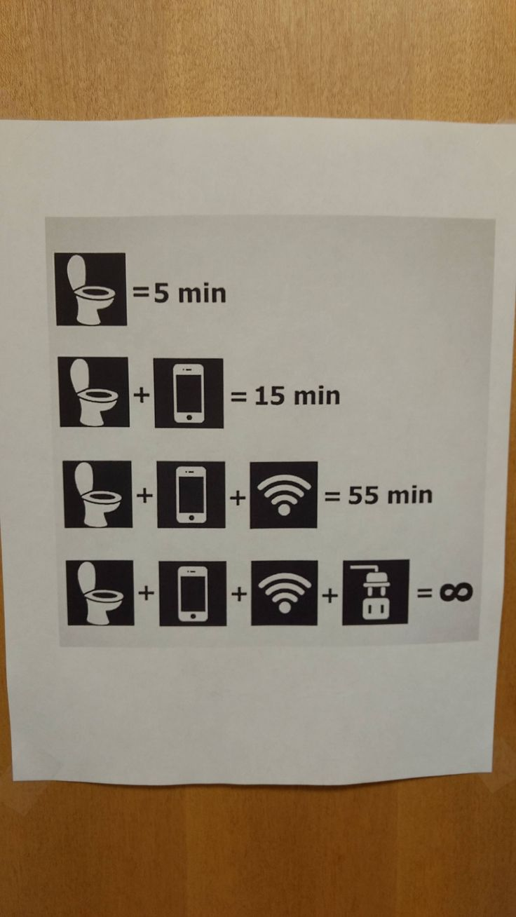 Funny bathroom signs for cleanliness - This Sign Was Taped To One Of The Men S Bathroom Where I Work Http