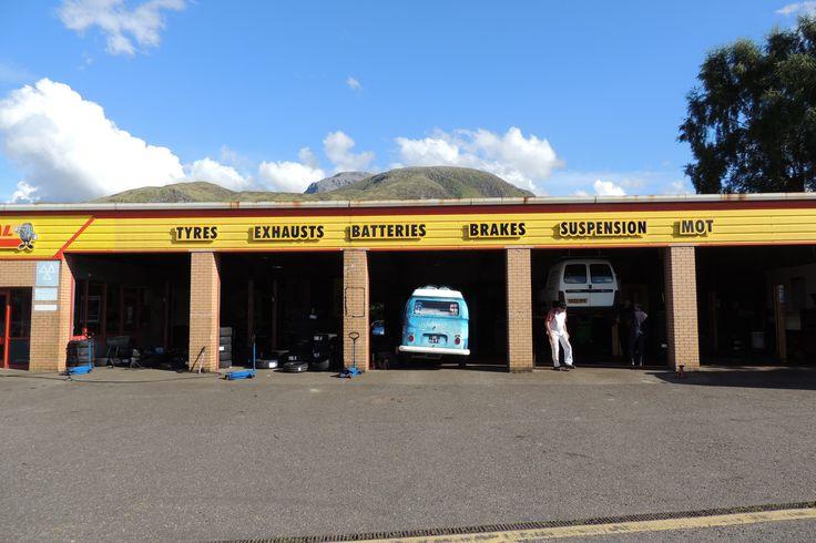 Fort William garage