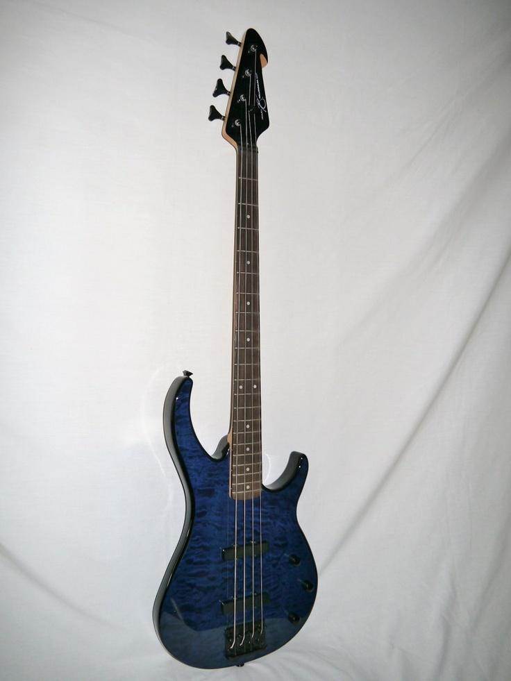 17 best images about guitars jazz fender jazz bass n creek guitars peavey millennium 4 bxp electric bass transparent blue