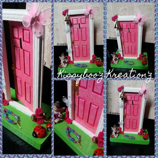 Fairy door created by me custom order for a friend #LittleMagicFairyDoor
