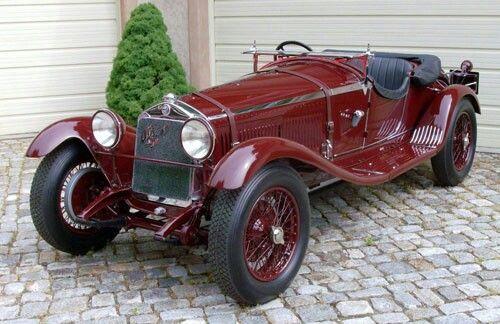 1930 Alpha Romeo 6C 1350