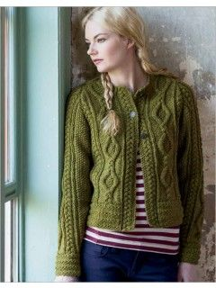 45 best fall knitting images on pinterest knitting stitches fall plaits and links cardigan by kathy zimmerman is a timeless cardi for all ages fandeluxe Image collections