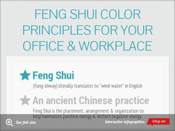 stunning feng shui workplace design. feng shui color principles for your office u0026 workplace infogram charts infographics stunning design s