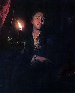 Godfried Schalken (Hollande, 1643-1706) – Autoportrait (1694) Leamington Spa Art Gallery & Museum, Angleterre