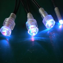 IP68 Waterproof Sauna Room Fiber Optic Lights LED Underwater Light 12V 0.3W  LED Bathtub Light