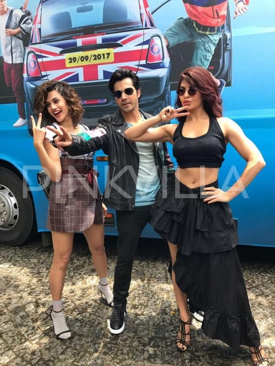 Judwaa 2: Varun Dhawan, Jacqueline Fernandez and Taapsee Pannu are all set for the trailer launch