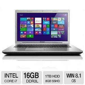 "Lenovo Z710 Core i7 16GB GT840M 17.3"" FHD Notebook"