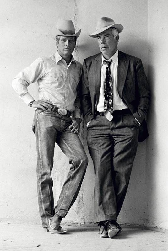 Icons: Lee Marvin and the ever gorgeous Paul Newman!!!
