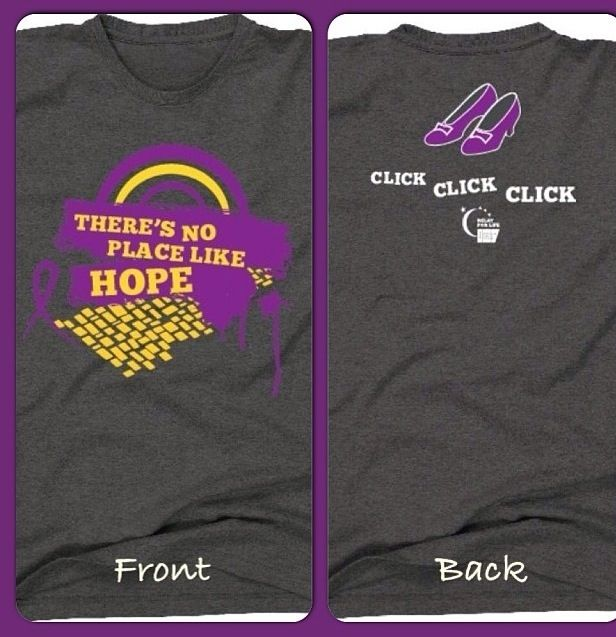 Our 2014 Relay Shirt to go along with our Wizard of Oz Theme! #teamBancFirst